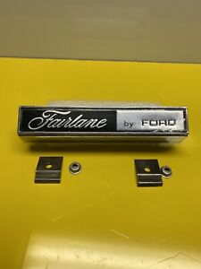ZC FAIRLANE GRILL BADGE WITH NEW INSERT