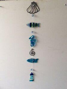 Glass Lighthouse & Fish Sun Catcher (26)