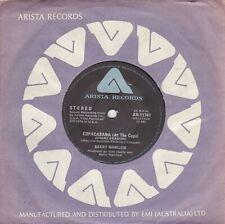 "BARRY MANILOW - COPACABANA (AT THE COPA) - AUSTRALIA 7"" 45 VINYL RECORD - 1978"