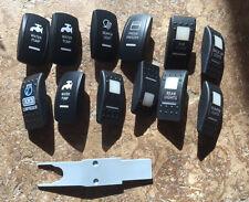 Rocker switches (12) for Contura V sPOD OTRATTW Jeep