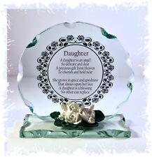 My daughter my angel poem gift Birthday Treasured present Memento  #10