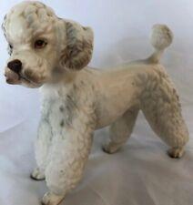 Vintage Lefton 7348 Standard Poodle Figure 5 1/4� Excellent