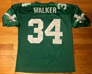 Vtg Starter Herschel Walker #34 Philadelphia Eagles Jersey Mens Large Green