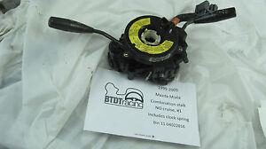 1999-2005 Mazda Miata control stalk no cruise and includes clock spring