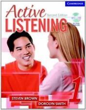 actif Listening 1 Student's Livre avec autoformation CD audio: Niveau 1 par