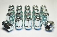 Set of 20 Wheel Nuts for Alloy Wheels M12 x 1.5 19mm Hex for a Volvo V50