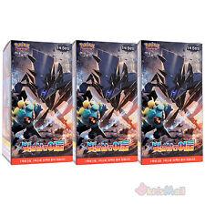 Pokemon Cards SM3 Burning Shadows Light Consuming Booster 3 Display Boxes Korean