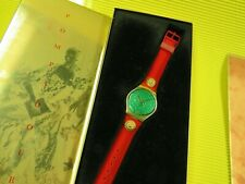 Swatch X-MAS Special von 1988 - POMPADOUR GX106 - NEU & OVP