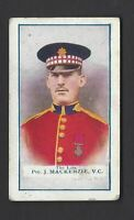 GALLAHER - THE GREAT WAR, VC HEROES, 1ST - #15 J MACKENZIE