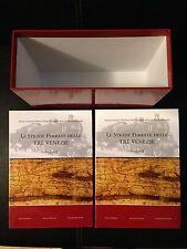 LE STRADE FERRATE DELLE TRE VENEZIE due volumi in cofanetto Aavv FERROVIE