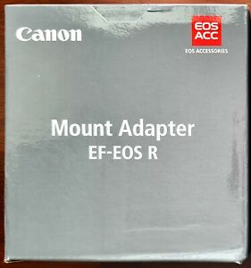 Brand New in Box - Canon EF-EOS R Lens Mount Adapter - EF lens to R5 R6 R RP