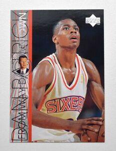 1996-97 Upper Deck #350 Allen Iverson WD
