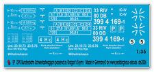 Peddinghaus 1390 1/35 Rimorchi di ferrovie federali per Leopard