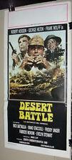 Desert Battle, BATTAGLIA DEL DESERTO, George Hilton Italian Film Poster 60s