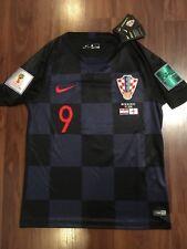 0e1f98fba Nike Croatia World Cup Semi-Finals 2018 Andrej Kramaric #9 Jersey size Small