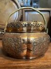 Chinese Antique  Bronze  Incense burner Qing China Asian