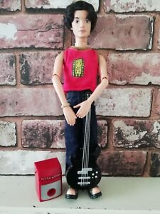 Mattel Myscene Jammin in Jamaica River Doll 2003 Guitar &  Amp Part Redressed