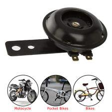 12V Waterproof Loud 105dB Universal Motorcycle Car Bike ATV Horn Black