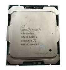 Intel Xeon E5-2696 V4 SR2J0 22Core 2.2GHz 55MB 150W Processor CPU LGA2011-3