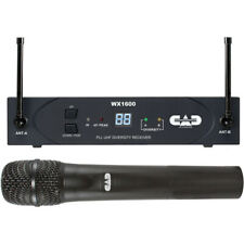 Cad Wx1600 Uhf 100-Channel Frequency Agile Handheld Wireless System (G: 542 to 5