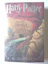HARRY POTTER AND THE CHAMBER OF SECRETS by J.K. ROWLING 1999 FIRST EDITION HC/DJ