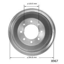 Brake Drum-XL, VIN: Y, GAS, OHV, RWD, FI, MFI, Natural, 12 Valves Rear 8967