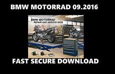 BMW MOTORRAD (RSD) 09.2016 Garage Workshop Motorcycle Repair Data Software