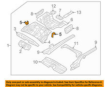 KIA OEM Floor-REAR BODY-Center Flr Pan Side Reinforcement Right 655262G000