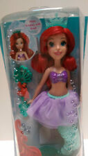"Disney Princess Ariel The Little Mermaid Doll w Bubble Wand 12"" NIP"