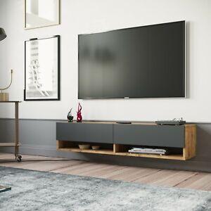 Yurupa TV Board Hängend Lowboard Hängeschrank Hängeboard Wohnwand FR11-AA