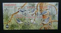 Bahamas 2006 Bird life International Bahama Nuthead Miniature Sheet MNH