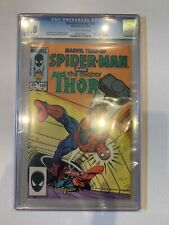 Marvel Team-Up 148 CGC 9.8 W    Spider-Man   Thor