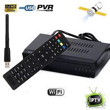 DVB-S2 Digital Satellite + Internet IPTV Combo TV Receiver Wifi PVR OTT Youtube
