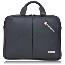 "SwissGear 14"" Laptop Handle Bag  Briefcase Computer Satchel Messenger Bag Black"
