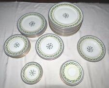 Charles Ahrenfeldt Limoges Frances - Trocadero - 34 Pieces - Excellent