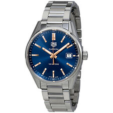Tag Heuer Carrera Quartz 39 mm Blue Dial Mens Watch WAR1112.BA0601