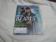 Fantastic Beasts Harry Potter  Cover Entertainment Weekly Magazine 10-19-18