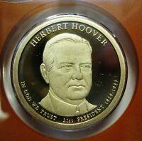 2014 D PRESIDENT HERBERT HOOVER UNCIRCULATED PRESIDENTIAL DOLLAR  #30D