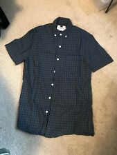 Topman Gingham, Short-sleeved X-small Shirt