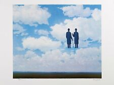René Magritte - The Infinite Recognition (signed & numbered lithograph)