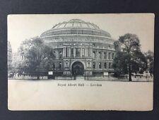 Vintage Postcard - London #A9 - RP Royal Albert Hall - Empire Serie - Hansom Cab