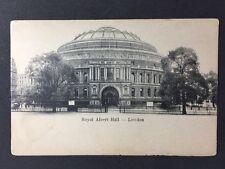 Vintage Postcard - London #A9 - RP Royal Albert Hall - Empire Serie - Hansom Cab