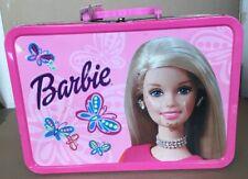 Barbie Collector Tin Popcorn Tin 2002 Empty Mattel