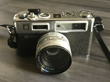 G Yashica Electro 35 GSN 35mm Film Rangefinder Camera Yashinon DX  Selling AS-IS