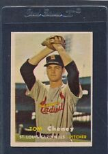 1957 Topps #359 Tom Cheney Cardinals VG/EX 57T359-111515-1
