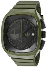 Adidas Toronto Originals Green Rubber Chronograph Men Watch 45x42mm ADH2135 $95