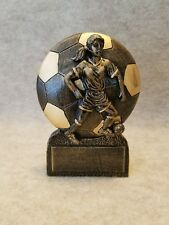 Female Soccer / Futsal Resin Trophy - with a free personalized plaque
