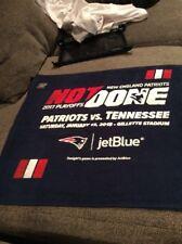 Patriots Vs Titans Rally Towel 1/13/18 Gillette Stadium Jet Blue Playoffs Afc
