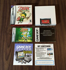 The Legend of Zelda: The Minish Cap (Game Boy Advance, GBA) Complete - Authentic