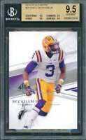 Odell Beckham Rookie Card 2014 Sp Authentic #29 Giants BGS 9.5 (9.5 9.5 9.5 9.5)